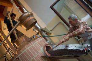 Distillazione grappa