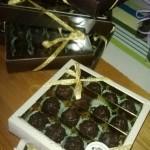 Confezioni regalo grappini e cioccolatini al ratafià